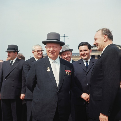 Nikita Khrushchev with Colleagues